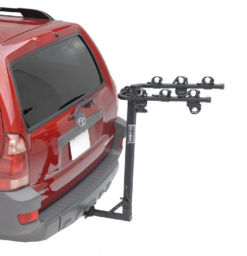 Hollywood Racks HR6100 Traveler 3-Bike Hitch Mount Rack (1.25-Inch Receiver))