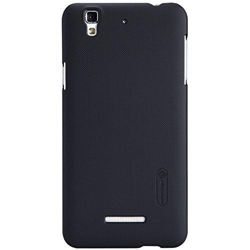 Nillkin Super Frosted Shield Hard Back Cover Case For Micromax Yu Yureka - Black
