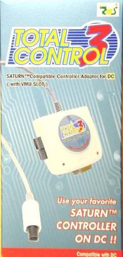 Total control 3 sega saturn controller racing wheel for Total home control