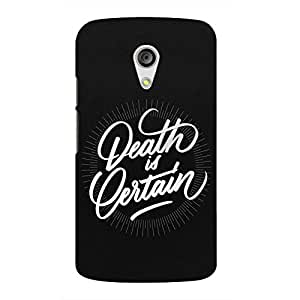 Back cover for Moto G (2nd Gen) Death is Certain