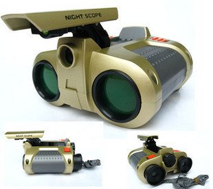 DUSIEC 4x30mm Day Pop-up Night Vision Binoculars Telescope,Best Gift for Child