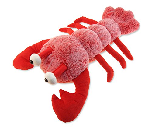 "Puzzled Super Soft Lobster Plush, 13"", Red"