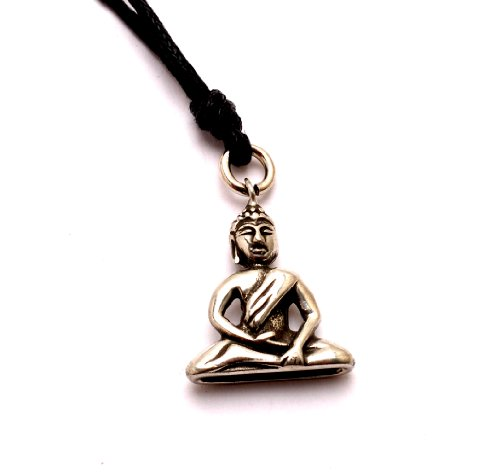 Vietsbay Jewelry's Buddha Yoga Meditation 1 Pewter Necklace Pendants Picture