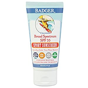 W.S. BADGER SPF 35 Sport Sunscreen Unscented