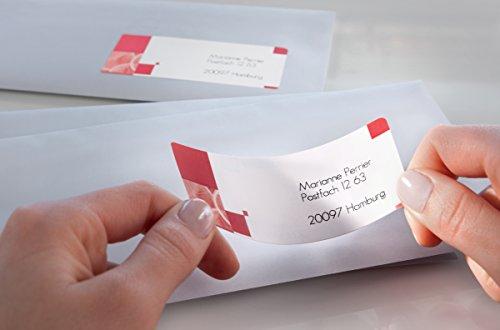 Avery Dennison J8160-10 Étiquettes d'adresse pour enveloppes Blanc 63.5 x 38.1 mm 10 feuilles (Import Allemagne)