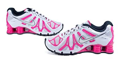 Women\\u0026#39;s Nike Shox Turbo+ 13 Running Shoe WOLF GREY/