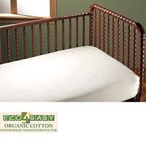 Amazon Bargoose Organic Knit Cotton Fitted Crib