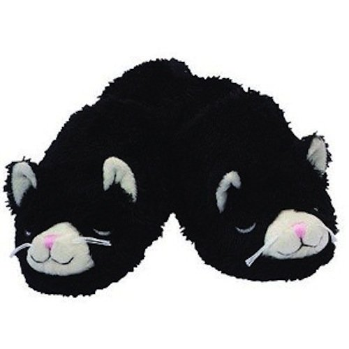 Warm Whiskers Unisex Hot Cold Therapy Peppermint Lavender Cat Slippers - M/L