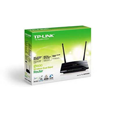 Tp-Link TL-WDR3500 Wireless Router (Black)