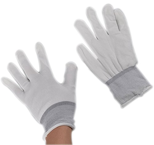 Novelty Perform LED Flashing Fingerting Lighting Gloves Rave Glow Gloves 7 Modes Colors Light Show