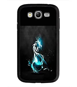 PrintDhaba Dragon D-1965 Back Case Cover for SAMSUNG GALAXY GRAND NEO (Multi-Coloured)