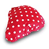 Basil Rosa Bicycle Adult Saddle Cover - Red/white