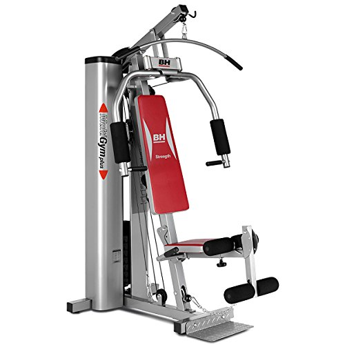 BH Fitness Multi Gym Plus Titanium - 70kg Weight Stack & Foldable...