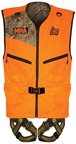 Cheapest Price! Hunter Safety System PATRIOT Harness, Reversible Vest