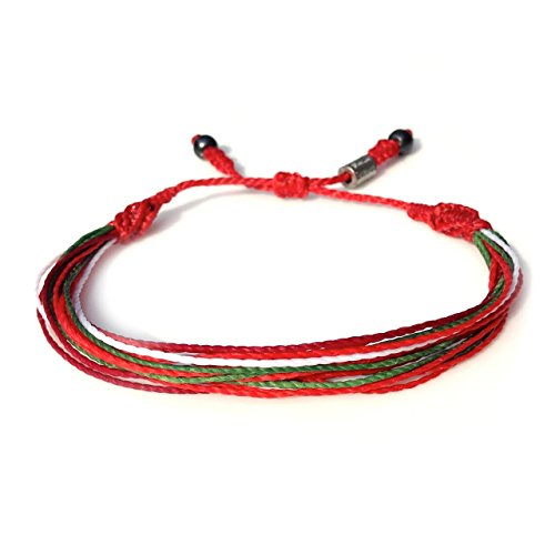 portugal-bracelet-in-national-team-colors-red-white-and-green-mens-and-womens-nylon-cord-sports-fan-