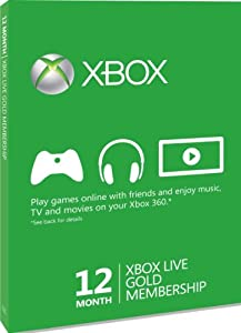 Xbox 360 - Live Gold - 12 Monate [UK Import]