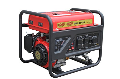 Mitsubishi Brilliant Powered By Mitsubishi MBG3500 3000W Gas Generator