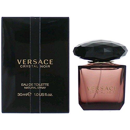 Crystal Noir by Versace Women's Eau De Toilette Spray 1 oz - 100% Authentic (Versace Perfume Crystal Noir compare prices)