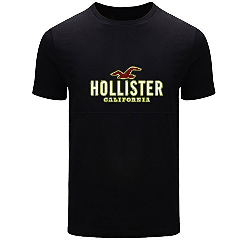hollister-logo-for-2016-boys-girls-printed-short-sleeve-tops-t-shirts
