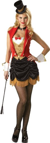 InCharacter Costumes Women's Three Ring Hottie Burlesque Ringmaster