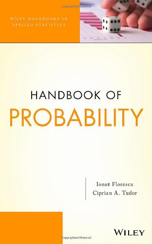 Handbook of Probability (Wiley Handbooks in Applied Statistics)