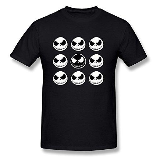 rose-memery-da-uomo-jack-skellington-maglietta-black-medium