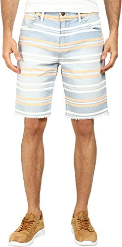 Joe's Jeans Men's Cut off Shorts in Tangier Bay Stripe Tangier Bay Stripe Shorts 32 X 10 Joes Jeans Joes Cut Off Shorts