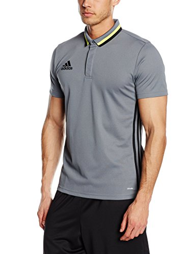 Adidas CL Polo Adulti tempo libero, Uomo, Poloshirt Condivo 16 CL, Vista Grey/Black, XL