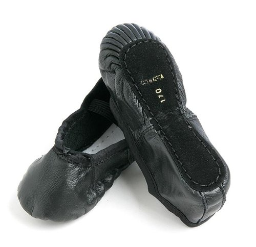 All leather ballet shoes and black 25.5 cm | Adult children's kids junior children children women's men's leather leather cowhide leather フルソール cheap made in Korea dance ballet supplies store lesson practice indoor wear on piano put on presentation of ele