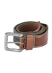 Parx Green Nylon Men's Belt