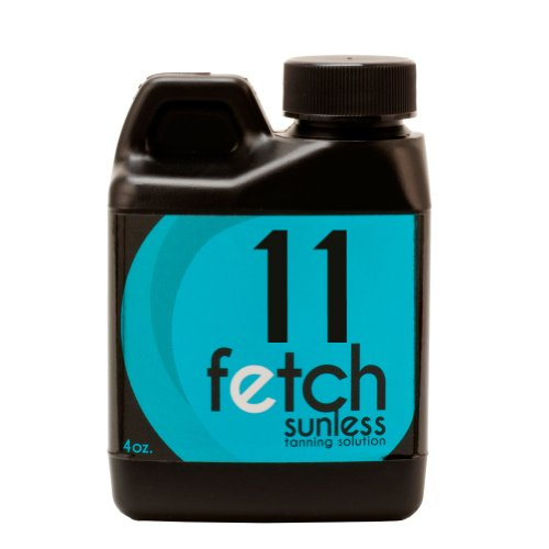 Fetch Sunless Spray Indoor Tanning Airbrush Solution 11% Dha Dark Formula 4Oz front-935821