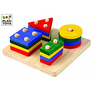 Geometric Sorting Board from Plan Toys