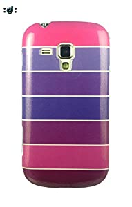 Dressmyphone Colorful Rainbow Soft TPU Jacket for Samsung Galaxy S Duos 2 S7582 and Samsung Galaxy S Duos S7562  Design 5    Multicolor available at Amazon for Rs.349