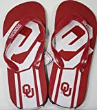 Oklahoma Sooners NCAA Unisex Big Logo Flip Flops