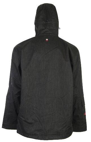 Foursquare Wright Ski Snowboard Jacket Black Dress Men's Sz S