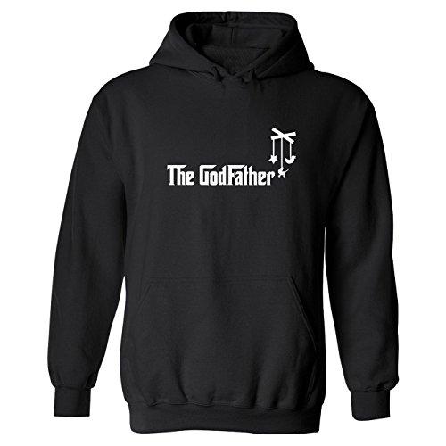So Relative! The Godfather Adult Hooded Sweatshirt (Black, 5Xl)