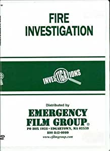 Fire Investigation DVD Package