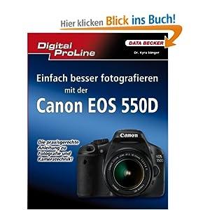 eBook Cover für  Digital ProLine Einfach besser fotografieren mit der Canon EOS 550D