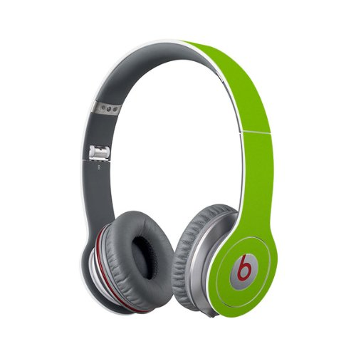 Beats Solo Full Headphone Wrap In Lime Green (Headphones Not Included)