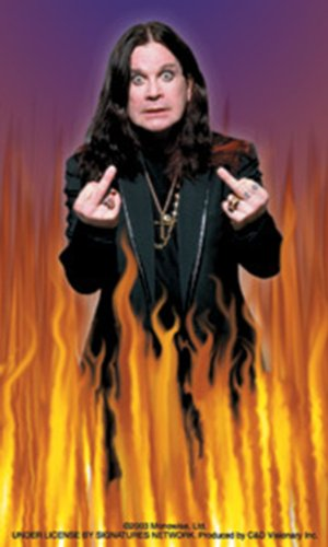 Licenses Products Ozzy Osbourne Fingers Sticker