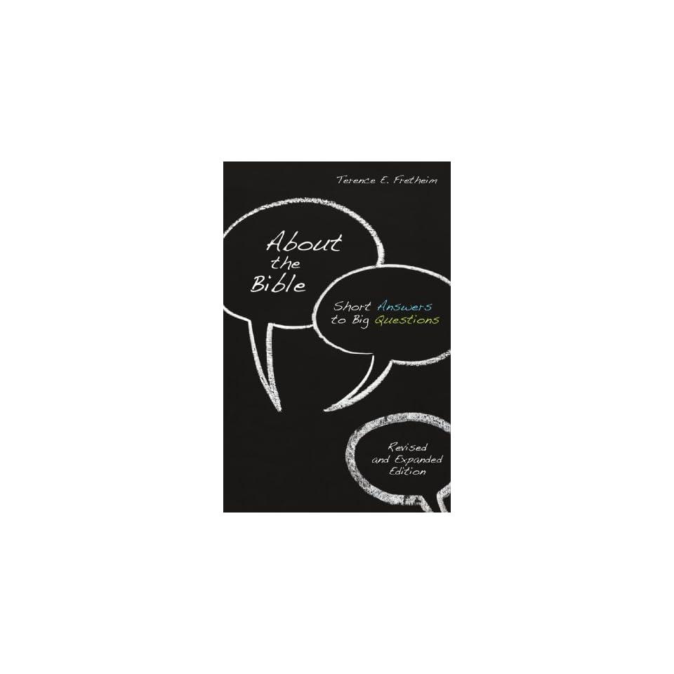 (Exploring Christian Faith) [Paperback] Terence E. Fretheim Books