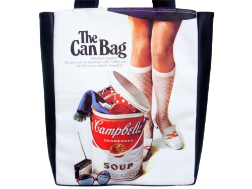 Campbell's Condensed Soup The Can Rare Cool Sexy Large Tote Bag Purse