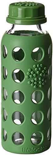 klein-more-15580-borraccia-in-vetro-modello-lifefactory-250-ml-verde