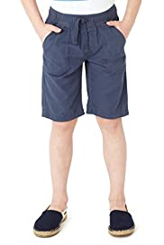Pure Cotton Twill Shorts