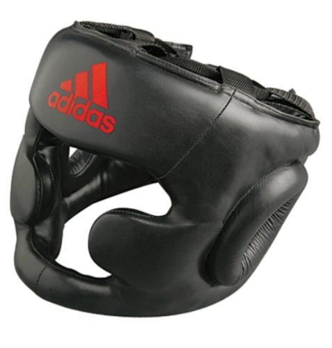 Adidas Performer Boxing Head Guard 'Gel' CE - Black - X-Large