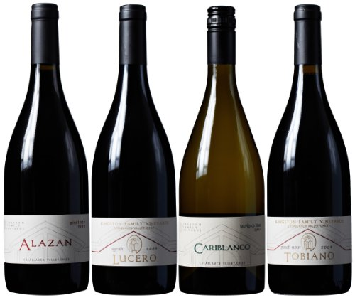 Kingston Family Vineyards The Casa Patronal Red And White Collection Mixed Pack, 4 X 750 Ml