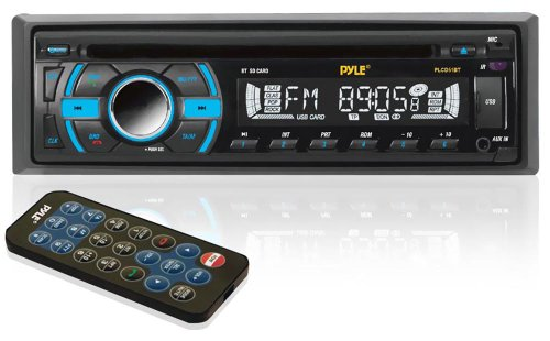 Pyle Plcd51Bt Bluetooth Receiver With Usb/Sd Memory Slots, Aux Input For Mp3 Playback And Am/Fm Radio