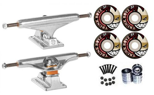 Independent Silver 139mm Trucks 8.0 Skateboard