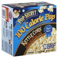 Pop Secret 100 Calorie Pop Kettle Corn - Sweet & Salty - Premium Microwave Popcorn 11.2 Oz, 10 Servings (Pack Of 2)