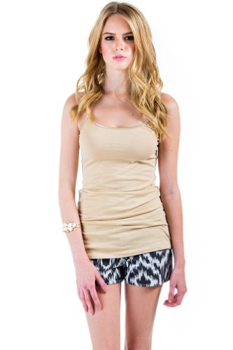 Active Basic Camisole in Taupe